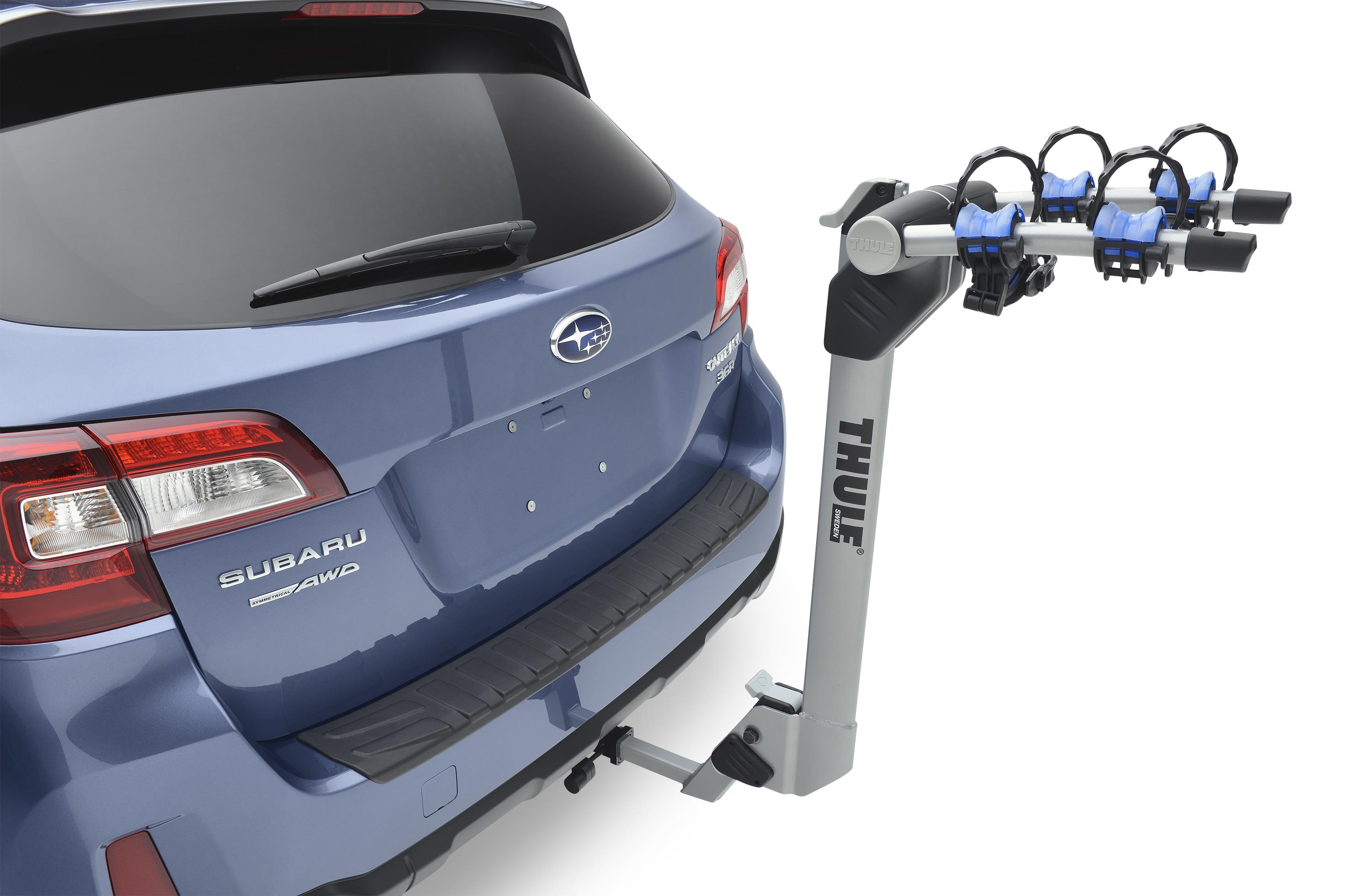 Carter Subaru Shoreline >> Subaru Outback Hitch mounted Bike carrier (Thule). Locking, Rack - SOA567B040 | Carter Subaru ...